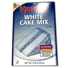 Continental Mills Krusteaz White Cake Mix 5 Pound