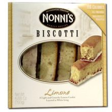 Nonnis Limone Biscotti Cookie 6.88 Ounce