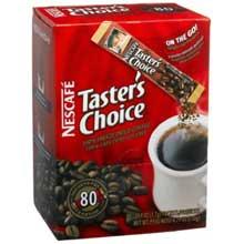 Tasters Choice Instant Coffee - 80 single serve sticks