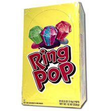 Ring Pop Fruit Fest Assortment - 24 count box