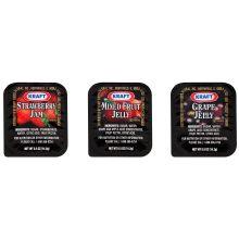 Kraft Assorted Jelly and Jam 0.5 Ounce