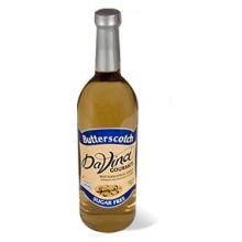 Kerry Food and Beverage Da Vinci Sugar Free Butterscotch Flavoring Syrup 750 Milliliter