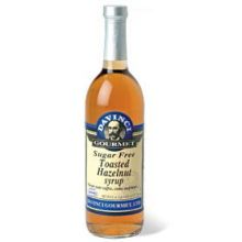 Kerry Food and Beverage Da Vinci Sugar Free Toasted Hazelnut Flavoring Syrup 750 Milliliter