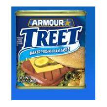 Armour Star Meat Luncheon Lite Treet 12 Ounce