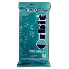 Wrigley Wintermint Orbit Bubble Gum - 25588