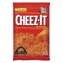 Cheez-It White Cheddar Baked Snack Crackers - 3 oz. bag