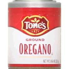 Tones Ground Oregano - 0.4 oz. jar