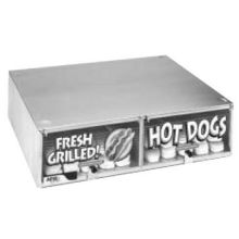 Hot Dog Stainless Steel Bun Cabinet