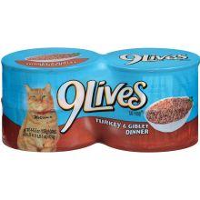 9 Lives Cat Food 6 Packs Of 4