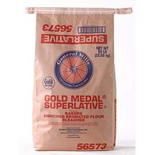 General Mills Bleached Bromated Enriched Malted Flour