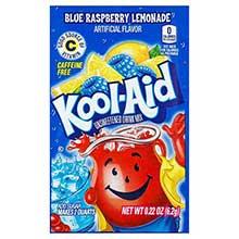 Kool Aid Ice Blue Raspberry Beverage .22 Ounce