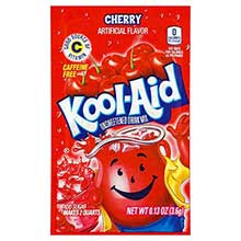 Kool Aid Cherry Beverage Unsweetened 0.13 Ounce