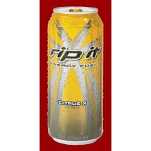 Shasta Beverages Rip It Citrus X Sugar Free Energy Drink 16 Ounce