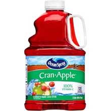 Ocean Spray Cran-Apple Cranberry Apple Juice Drink 3 Liter