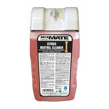 US Chemical Mix Mate Concentrate Citrus Neutral Floor Cleaner 3100 Milliliter