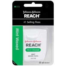 Reach Mint Waxed Floss 55 yd