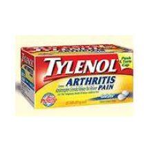 Tylenol 8 HR Arthritis Pain Reliever Fever Reducer Extended-Release Caplets 100 ct Bottle