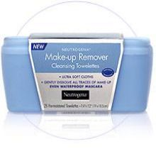 Neutrogena Makeup Remover Cleansing Towelettes 25 ct Pouch