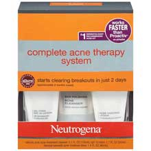 Neutrogena Complete Acne Therapy System Advanced Solutions 1 Kt Box