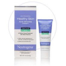 Neutrogena Healthy Skin Anti-Wrinkle Cream Original Formula SPF 15 1.4 Oz Box