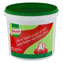 Knorr Caldo de Tomate Tomato Bouillon 4.4 pound