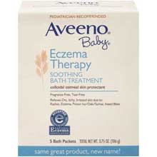 Aveeno Baby Eczema Therapy Soothing Bath Treatment 5 ct Packets