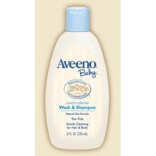 Aveeno Baby Wash and Shampoo 8 Ounce