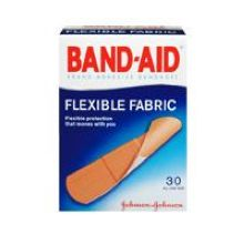 Band-Aid Flexible Fabric All One Size 30s Bandage