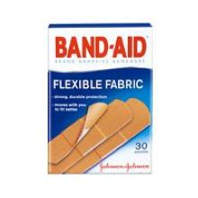Band-Aid Flexible Fabric Assorted 30s Bandage