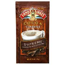 Land O Lakes Classic Chocolate Supreme Cocoa - 12 Packets