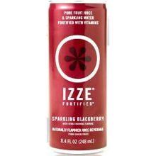 Izze Fortified Sparkling Blackberry Beverage