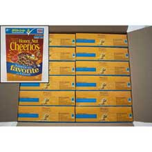 General Mills Honey Nut Cheerios Cereal 12.25 Ounce