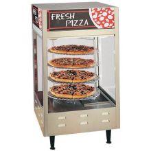 Nemco Food Equipment 4 Tier Rotating Pizza Display Case 33.88 x 18.5 x 18.5 inch