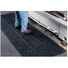 Cactus Black Vip Prima Commercial Rubber Mat 3 x 3 feet