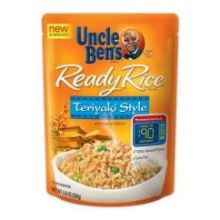 Mars Uncle Bens Teriyaki Style Ready Rice 8.8 Ounce
