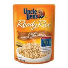 Mars Uncle Bens Chicken Whole Grain Brown Ready Rice 8.8 Ounce