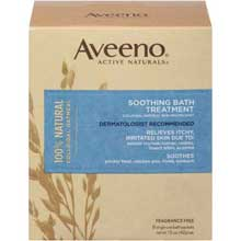 Aveeno Active Naturals Soothing Bath Treatment 8 ct Box