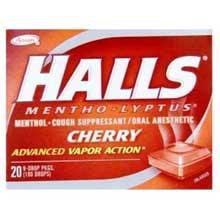 Halls Cherry - 30 count bag