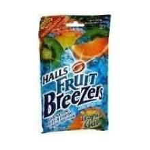 Halls Breezers Tropical Chill - 25 count bag