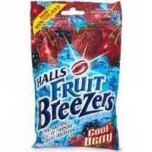 Cool Berry Halls Fruit Breezers