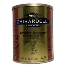 Sweet Ground Chocolate and Cocoa Powder