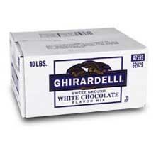 Sweet Ground White Chocolate Flavor Powder