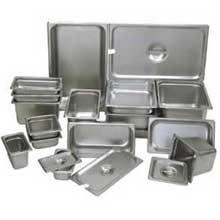 Update International Stainless Steel Steam Table Pan - Half Size 6 inch Deep