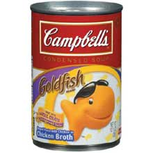Campbells Condensed Goldfish Pasta Soup