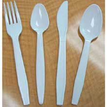 Platinum Series White Polystyrene Extra Heavy Weight Cutlery
