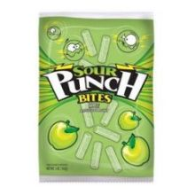 Apple Sour Punch Straw Bites 5 Ounce
