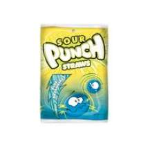 Blue Raspberry Sour Punch Straw Candy 5 Ounce