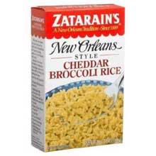 Zatarains New Orleans Style Cheddar and Broccoli Rice 5.7 Ounce