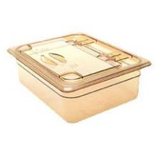 Clear High Heat Solid Flip Lid Only for Half Size Food Pan