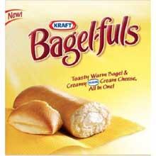 Frozen Bagel Fuls Snack